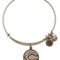 Women's Alex and Ani 'Cincinnati Reds' Expandable Charm Bangle