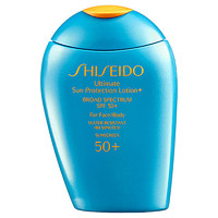 Shiseido Ultimate Sun Protection Lotion+ Broad Spectrum SPF 50+ For Face/Body (3.3 oz)