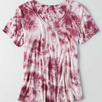 AEO Soft & Sexy Swing T-Shirt , Burgundy