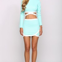 HelloMolly | Caramel Top Mint - Tops