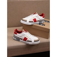 DOLCE & GABBANA 2021 Men Fashion Boots fashionable Casual leather Breathable Sneakers Running Shoes09260cx