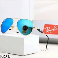 Samplefine2 Ray-Ban Classic Couples High Quality Fashion Travel Essentials Sunglasses F-A-SDYJ NO.5
