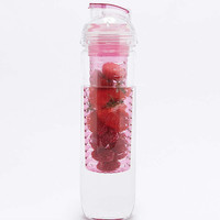 Pink Fruit Infuser Water Bottle - Urban Outfitters