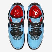 Air Jordan 4 X Travis Scott Basketball Shoes Us7 13