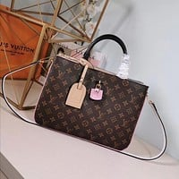 lv louis vuitton women leather shoulder bags satchel tote bag handbag shopping leather tote 37