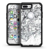 Mixtured Gray v5 Textured Marble - iPhone 7 Plus/8 Plus OtterBox Case & Skin Kits
