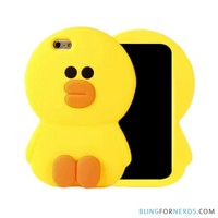 Yellow Duck Soft Case - iPhone 6