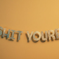 Holy Sh*T Youre Old Banner/Party/Birthday/Decor/Customizable