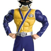 Child Muscle Gold Power Rangers Costume | AihaZone Store