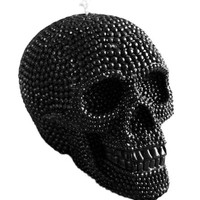 """""""SKULL"""" BEESWAX CANDLE BY INKED (BLACK)"""