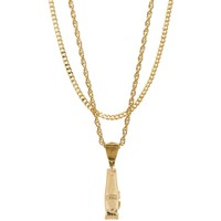 Mister  Clipper Necklace - Gold