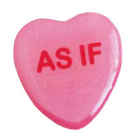 As If Sweetheart Pin