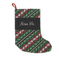 Personal Ugly Sweater Holiday Pattern Sock