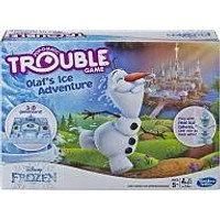 Trouble Disney Frozen Olafs Ice Adventure Game for Kids Ages 5 and up