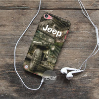 Art Work Old Jeep iPod Case Cover Series