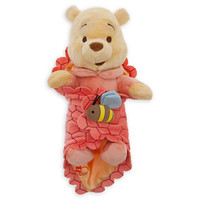 Disney's Babies Winnie the Pooh Plush Doll and Blanket - Small - 10''