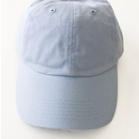 Plain Baseball Cap - Light Blue