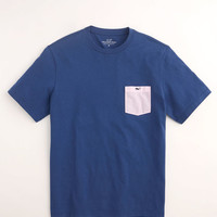 Gingham Pocket Whale T-Shirt for The Kentucky Derby - Vineyard Vines
