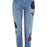 MOTO Floral Mom Jeans - New In This Week - New In