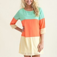 Three Scoops of Awesome Tunic-Mint