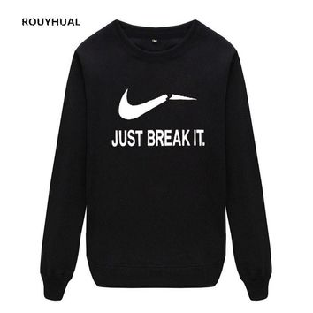 ROUYHUAL Mens Hoodies Casual  Male Long Sleeve men sweatshirts