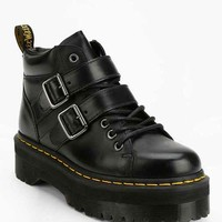 Dr. Martens Bryony Buckled Flatform Boot- Black