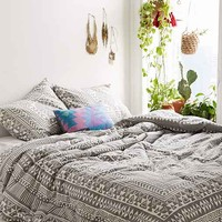Magical Thinking Printed Woodblock Comforter