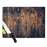 "Susan Sanders ""Barn Floor"" Rustic Cutting Board"