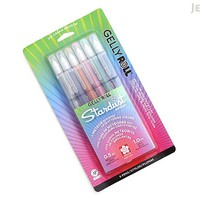 JetPens.com - Sakura Gelly Roll Stardust Gel Pen - 1.0 mm - 6 Color Set - Meteor