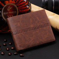 Mens Creative Leather Wallet