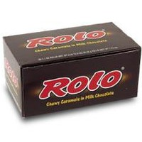ROLO CARAMELS  CANDY IN CHOCOLATE - 36 / 1.7 OZ. ROLLS