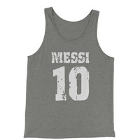 Messi 10 Football Jersey Tank Top for Men