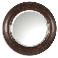 Mirrors, Violeta Wall Mirror, Brown, Wall Mirrors