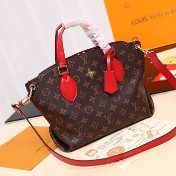 Kuyou Lv Louis Vuitton Fashion Women Men Gb2969 The M44347 Monogram Comes In All Kinds Of Varieties Of Flower Zipped Tote Mm