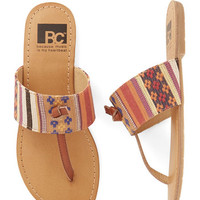 BC Footwear Boho In the Late Night Lights Flat in Tapestry