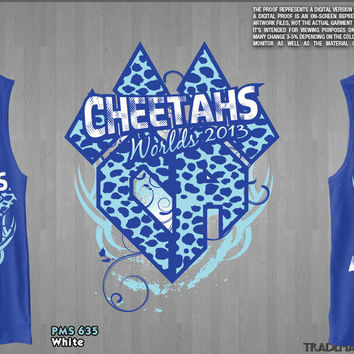 Cheetahs 2013 Worlds Team TANK TOP