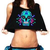 Rave Dance Party Crop Top