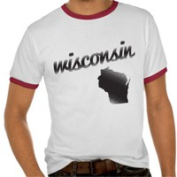 Wisconsin State T Shirts