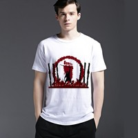 Tee Strong Character Short Sleeve Creative Cotton Casual Fashion Men's Fashion Summer T-shirts = 6451676803
