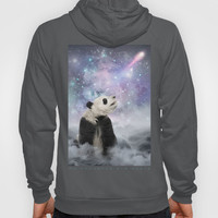 My Thoughts are Stars • (Panda Stargazer) Hoody by soaring anchor designs ⚓ | Society6