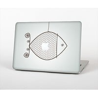 """The Simple Vintage Fish on String Skin Set for the Apple MacBook Air 11"""""""