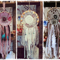 Custom Dreamcatcher -  Bohemian Home Decor - Made to Order - Hippie Boho - Bedroom Decor - Gift Idea