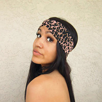 Leopard Print Turband from Love What's Missing