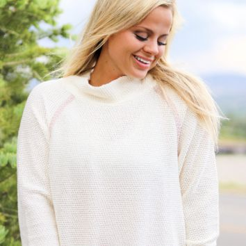 Jadelynn Brooke: Cream Down Right Cozy Fleece