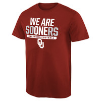 Oklahoma Sooners Hometown Collection We Are One 2 T-Shirt - Crimson