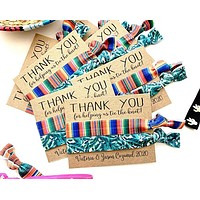 Thank You for Helping Us Tie the Knot | Wedding Favor