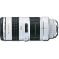 Canon - EF 70-200mm f/2.8L USM Telephoto Zoom Lens - White