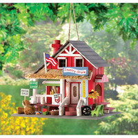 Country Store Bird House