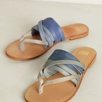 Dip-Dye Sandals by Jasper & Jeera