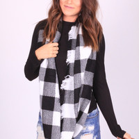 Check Yes Infinity Scarf